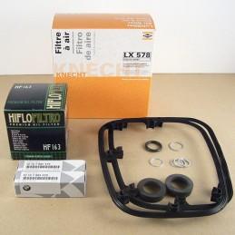 Kit filtre à huile avec radiateur d'huile Origine BMW
