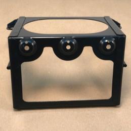 Optique Classic contour LED Homologué Noir